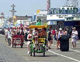 Ocean City Boardwalk New Jersey Island Realty Group